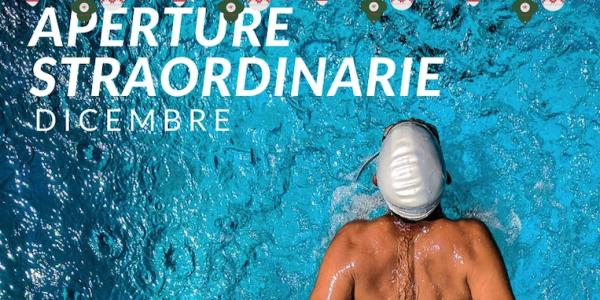 Aperture straordinarie di dicembre Sport Line passione Nuoto!