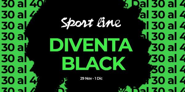 Sport Line diventa Black!